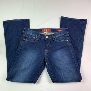 💕Lucky Brand Sofia Boot Cut Jeans Size 2/26 *EUC*
